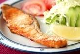 塩鮭の唐揚げ