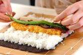 巻き寿司(恵方巻き)の作り方6