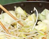 シンプル野菜炒めの作り方2