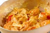 エビと豆腐のオイスターソース炒めの作り方3