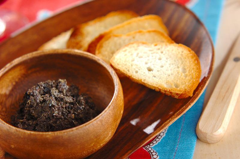 ブラックオリーブのパテ