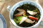 ザックリレタスのスープ