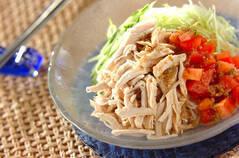 バンバンジー風素麺