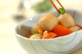 冷凍里芋の煮っころがしの作り方2