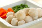 冷凍里芋の煮っころがしの下準備1