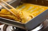 ウナギ蒲焼き入り卵焼きの作り方3