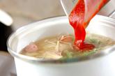 カリフラワーのトマトスープの作り方2