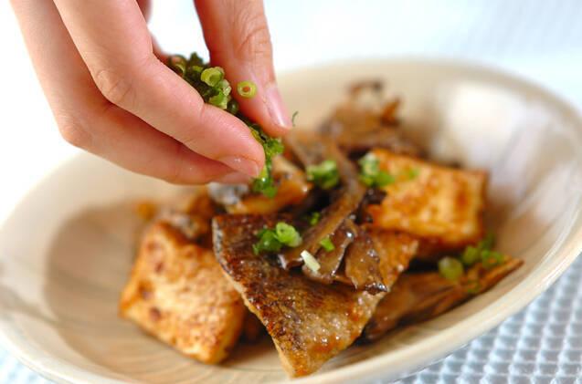 白身魚と厚揚げのみそ炒めの作り方の手順7