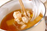 卵豆腐のお吸い物の作り方1