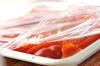 豚とパプリカおかか和えの作り方の手順3
