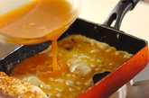 おだしたっぷり卵焼きの作り方2