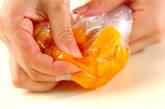 完熟柿ラッシーの作り方1