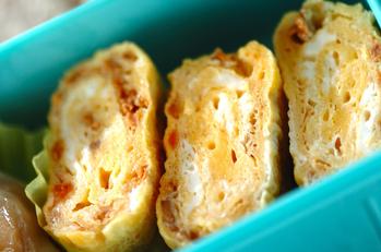 鶏そぼろの卵焼き