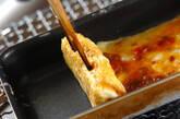 鶏そぼろの卵焼きの作り方2