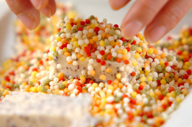 豆腐のあられ揚げの作り方の手順4