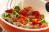 コンニャクとピーマンの炒め物の作り方の手順4