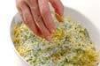 カキのハーブパン粉焼の作り方2