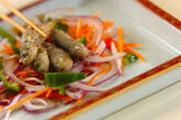 豆アジとせん切り野菜の南蛮漬けの作り方9
