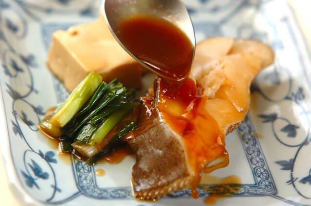 定番カレイの煮付けの作り方の手順7