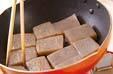 コンニャクの煮物の作り方3