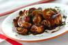鶏肉とマッシュルームのバルサミコソテー