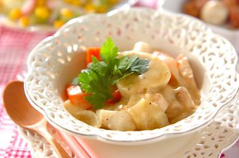 里芋のコーンシチュー