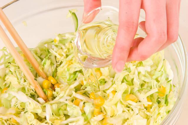 コールスローサラダの作り方の手順5