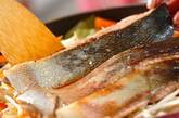鮭ジャガのチャンチャン焼き風の作り方8