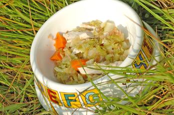 ドッグフード 鶏ささ身と野菜のサッと煮