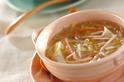 モヤシのとろ~り春雨スープ