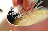 モヤシのとろ~り春雨スープの作り方1