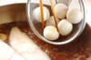 カラスガレイのサッパリ煮の作り方の手順3