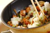 鶏肉とキノコのおろし和えの作り方2
