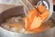 根菜たっぷりの豚汁の作り方2