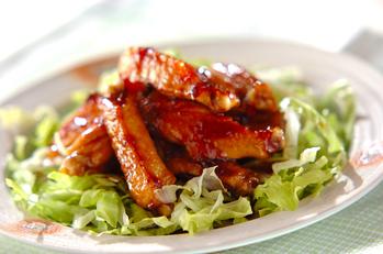 鶏肉のユズジャム煮
