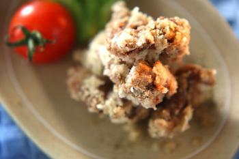 砂肝の山椒風味揚げ