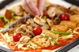 手作り生地のピザの作り方4