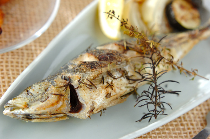 3. アジの香りオーブン焼き