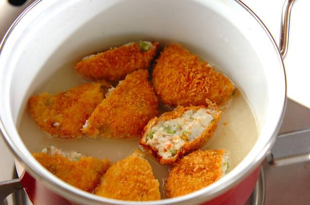 里芋のポタージュの作り方の手順2