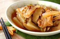 冬瓜と豚肉の炒め煮