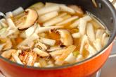 冬瓜と豚肉の炒め煮の作り方3