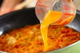 豚肉チーズのキムチスープの作り方5