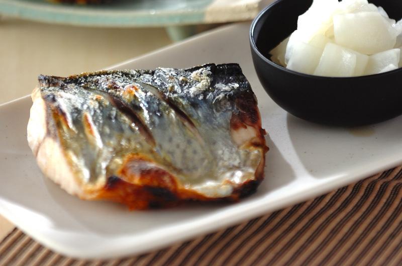 お魚が主菜のメニュー
