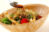 水菜のサラダの作り方2