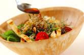 水菜のサラダの作り方6