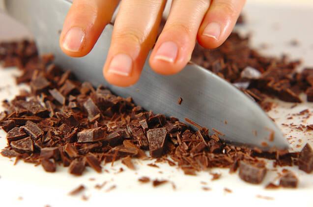 サクサクチョコの作り方の手順1