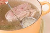ゆで豚・からしじょうゆの作り方3