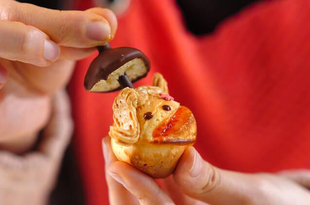 スマイルケーキの作り方の手順3