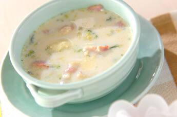 ブロッコリーミルクスープ