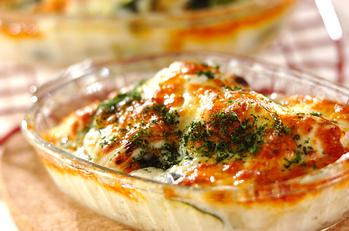 ズッキーニのチーズ焼き